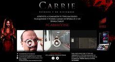 Campaña Carrie en Vine para el estreno de la película en España #socialmedia #vine vía @Pinterest