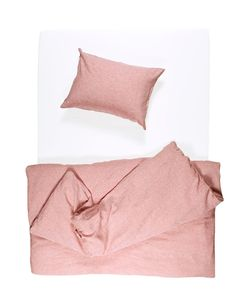 Coral Melange Linen Duvet Covers / Pillows and Fitted Sheets - Yarn Dyed Coral Bedding, Linen Bedding, Cheap Linens, Kids Fashion Photography, King Comforter Sets, Bedding Sets, Bedroom Vintage, Yarn Colors, Bedding Collections
