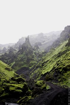Þakgil south Iceland by Mathieu Noel, via Flickr