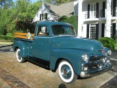 """1954 Chevrolet 3100 Five Window Pickup The 1954 """"Advanced Styling"""" Chevy Pickups were the very last full year of the Highly Sought After Art Deco Pickups. The Rare """"5 Window"""" Highly Desirabl..."""