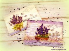 Veana R. - featured in Mixed Media Place April 2018 challenge