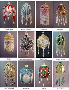Printed Version of Beaded Ornament Pattern by by TheOrnamentalLady