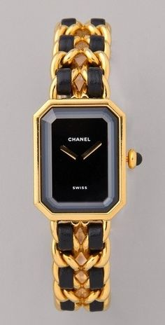 Vintage Chanel Watch... feel free to buy this for me anybody lol