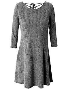 2b13b9207f24 [$16.99] Women's Plus Size Going out Daily Simple Cute Sophisticated A Line  Sheath Sweater Dress. Klänningar Stora StorlekarStorväxta Kvinnor