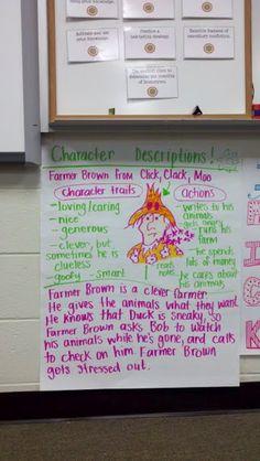 click clack moo--character descriptions