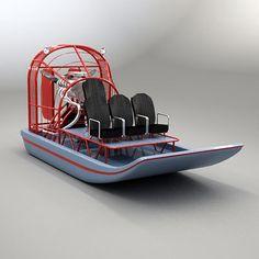 Resultado de imagem para aluminum airboat plans airboat pinterest 3d model of airboat air boat 3d model sciox Image collections