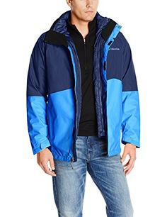 Columbia Mens Powderkeg Interchange Jacket Collegiate Navy XXLarge *** Learn more by visiting the image link. This is an Amazon Affiliate links.