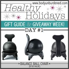 Healthy Holidays Gift Guide and Giveaway: Day 1 is live, 12/4/14 only! Check out this awesome gift suggestion... and enter to win one for yourself!