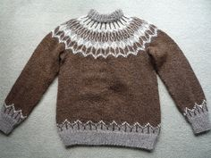 Ravelry: #8 Sweater, Samband of Iceland No. 2 pattern by Anna Árnadóttir