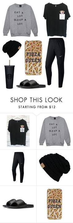 """""""Untitled #9"""" by k-chic on Polyvore featuring NIKE"""