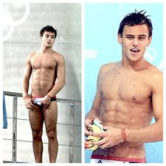 Tom Daley~Brit swimmer