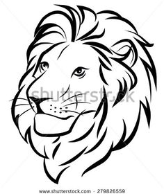Simple Lion Drawing Bing Images Holidays In 2019