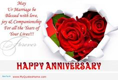 Happy Anniversary Wishes and Quotes - Anniversary Quotes, Wishes, Messages and Images Love Rose Flower, Love Flowers, Beautiful Flowers, Simply Beautiful, Flower Power, Love Rose Images, Flower Images, Rose Day Wallpaper, Love Wallpaper