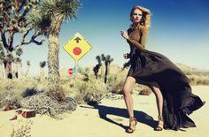 Lara Stone by Inez & Vinoodh for Vogue China March 2011. #lanvin
