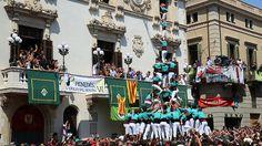 Vilafranca completa la mejor actuación de la historia de los 'castells'