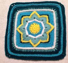 Eight Pointed Flower ~ free pattern ᛡ