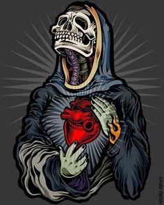 tinta e ilustracion vectorial Bueno, inspirado totalmente por The Desert Sessions, banda formado por Josh Homme (queens of the stone age) estoy trabajando en varias ilustraciones de esta banda a ma...