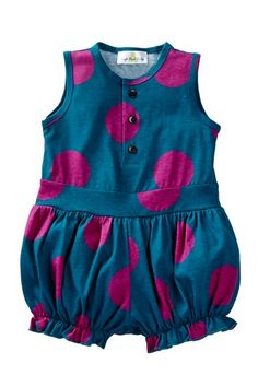 Bubble Jumpsuit (Baby & Toddler Girls) by Right Bank Babies on @HauteLook