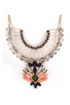 Nora Statement Necklace//