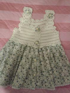 bebek elbisesi Rubrics, Cool Baby Stuff, Bodice, Summer Dresses, Baby Goods, Alba, Fashion, Crochet Baby Dresses, Girls Dresses