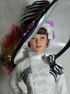 My Fair Lady doll repaint. wow!