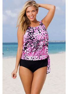 497d511154 Scoop neckline provides moderate coverage.  spandex  coupons  swimwear  Swimsuits 2014