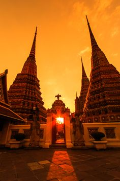 The Temple of the Reclining Buddha (Wat Pho). It's the largest and oldest temple in #Bangkok and, as the name suggests, is home to the enormous reclining Buddha.