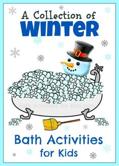 A collection of Winter activities to make bath time fun!