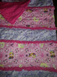 Addys Frozen Rag Quilt