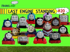 Last Engine Standing #20 - Thomas and Friends Trackmaster Demolition Derby