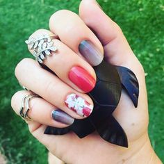 Wow it's nice to see something that isn't right now and this one is a stunner! and love love :D nice work Zarra Van De Kreeke! Manicure Images, Pastel Nails, Cat Dad, Jamberry Nails, Short Nails, Nail Care, Nail Ideas, Van, Nice