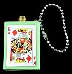 Vintage MITSUGIRI  Japan PERMANENT MATCH Lighter Striker Playing Card Motif  #MITSUGIRI King Of Hearts, Antique Metal, Vintage Lighting, Flask, Lighter, Playing Cards, Japan, Antiques, Ebay