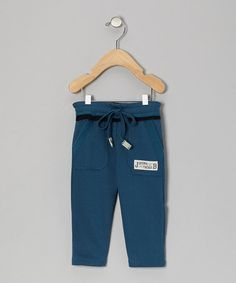 Take a look at this Blue Relaxed Fleece Pants - Toddler & Boys by JB Original Vintage on #zulily today!