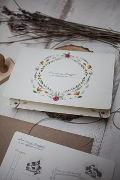SrtaEdwina | Invitaciones de Boda Ilustradas Irene & Diego