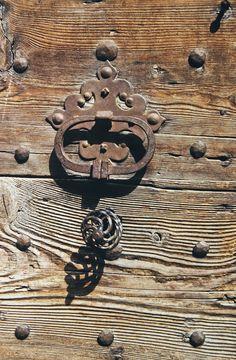 wood, antique, number, old, metal, door