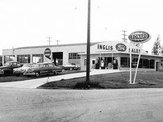 Inglis Ford Sales, E. Tawas MI, 1956