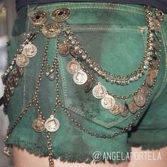 Denim Art, Diy Clothes, Chocolates, Boho, Shorts, Jewelry, Fashion, Clothes, Diy Clothing