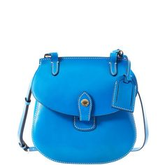Dooney & Bourke Leather Happy Bag    Isn't it just Blue-tiful!