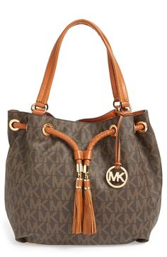 c18b2e98cf78 MICHAEL+Michael+Kors+ Large +Gathered+Tote+available+