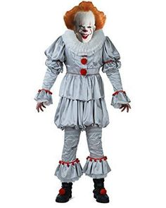 Stephen King's #IT Chapter Two #Pennywise Clown #HalloweenCostume For Adults #Halloween2019 #ThanksGiving #HalloweenDress #Halloween