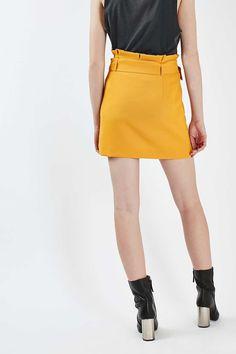'80s Paperbag Pelmet Skirt - New In- Topshop Europe
