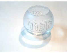 Personalized Yahrzeit Candle Holder  Hand Etched by LDDecoline, $29.00