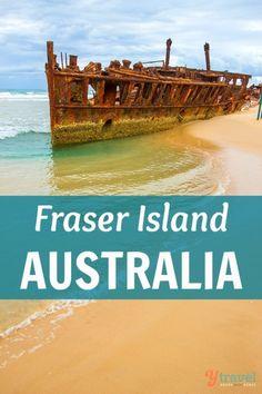 Visit the World's Largest Sand Island - Fraser Island, Australia (Queensland)