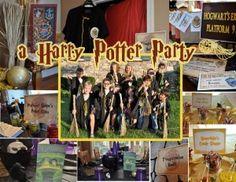 free printable Harry Potter Printable Party Set