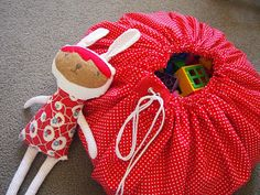 CityCottage: Tutorial - a play mat sack
