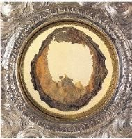 Eucharistic Miracle in Lanciano - where the Host turned into flesh, and the wine into blood - more than 1,250 years ago - without any form of preservatives, still present in the reliquary.