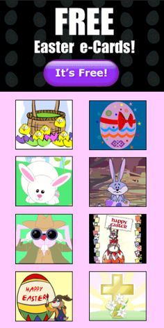 Fast! Easy! Fun!  ♥ ♥ ♥  Send Free Easter Greetings E-card to All Your Friends and Family  ♥ (Work only with IE/FF) ♥