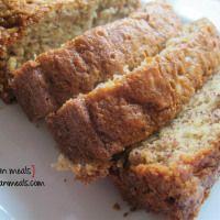 po' man meals - moist banana nut bread