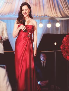 Gorgeous red evening dress Victoria Grayson ∞