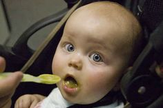 First and foremost, make sure your baby is ready for solid foods.